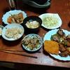 幸運な病のレシピ( 2371 )昼:レンコン肉詰め、ピーマン肉詰め、鶏唐揚、春巻き(手巻き)