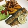 秋刀魚のムニエル