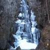 百尋の滝(氷瀑)、川苔山、本仁田山、花折戸尾根
