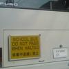SCHOOL BUS DO NOT PASS WHEN HALTED 停車中追越し禁止