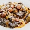 茄子とウインナーのソースケチャップパスタのレシピ
