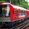 【鉄道ニュース】箱根登山鉄道3100形「ALLEGRA」3103編成が甲種輸送される