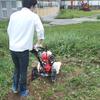 9月24日 学内畑おこし・肥料まき