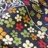 着物生地(193)古典柄に花・宝模様上代紬