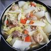 鍋キューブ鶏だしうま塩作ってみました、一人暮らしの味方で美味い!
