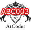AtCoderの過去問に挑戦 ABC003 AtCoder Beginner Contest 003