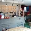 クレット島でコーヒー焙煎できるカフェ