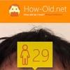 今日の顔年齢測定 266日目