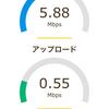 夜10時半Fuji wifiはどのくらいの速さか?