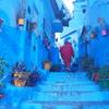 【モロッコひとり旅】青い街シャウエンを夕方から散策