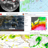 【台風情報】日本の南西には熱帯低気圧・南東にはまとまった雲の塊(96W・97W)が存在!今後南東の台風の卵が台風26号となって10月下旬に関東の東を通過!?気象庁・米軍・ヨーロッパ・NOAAの進路予想は?