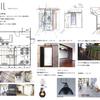 居抜き改装 カフェを美容室に 美容室独立開業の為、居抜き物件(CAFE)を改装しての美容室開業計画-2