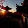 京都・西山 - 朝日浴びる善峯寺(2日目)