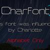 Charlotteのフォント作り直しました