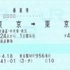 山手線を一周する乗車券
