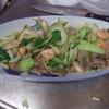 幸運な病のレシピ( 1840 )朝 :八宝菜風(青梗菜・牛肉・海老)、煮しめ、味噌汁、マユのご飯、