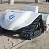 アメリカのビーチ清掃ロボットBeBot