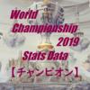 Worlds2019 統計データ【チャンピオン】
