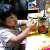 【今日の食卓】タイのAROY-Dブランドのンゴ(ランブータン)缶詰。子どもたち大好き。ランブータンはインドネシア語で「髪」の意味。 #タイ料理