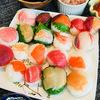 実際に自分で作るのがやっぱり好評、手まり寿司