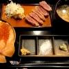札幌市 牛かつ海鮮処 京橋本店 / 2条市場の中で牛かつを