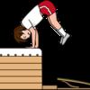 台上前転 実践のポイント(大前先生の実践から)