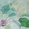 2019年:4月『春を描く - (5) コールラビと春の花』