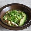 40冊目『SAMURAIレシピ』から5回は鶏肉とアボカドのメキシカンスープ