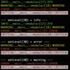 Python Colorlog サンプルコード