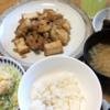 さっぱりヘルシー鶏ムネ肉のおろし煮・ポテトサラダ・きゅうりのキューちゃん風漬物(レシピ付き)