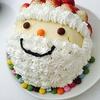 【節約】サンタさんのアイスケーキを作ろう!