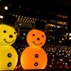 2016年末一人旅 第三週(120)大阪駅時空の広場のクリスマスイルミネーション続き