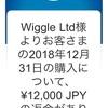 国際eパケットライトを使ってWiggle 福袋を返品した結果