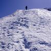 残雪期の伯耆大山、12本爪の本格アイゼンは必要なのか?