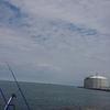 6/8 第23ラウンド 初の船出 6:00~11:00  石狩湾新港花畔カーブ ガスタンク横  チビカワガレイ1匹 午後13:30~16:30小樽  カレイ2匹