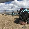 自転車旅2日目!森林限界の絶景「渋峠」で肉体の限界に挑んで散る