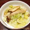 「キャベツの和えもの」にんにく風味で食欲アップ:糖尿病患者の食卓
