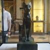 ルーブル美術館でモナリザを観た