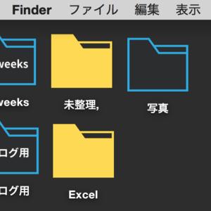 Macでフォルダアイコンを変更する方法。
