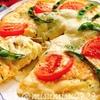 定番☆生地がチーズと卵の低糖質ピザ