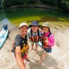 屋久島で初めてのSUP体験(GREEN MOUNTツアー)