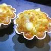 キリのクリームチーズ入り、2種類のチーズとクリームコーンのケーク・サレ