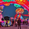 西安唐皇城壁含光門遺跡博物館と2019年西安城壁灯籠祭り