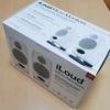 在宅勤務中のBGM用スピーカーにIK Multimedia「iLoud Micro Monitor」を購入しました。
