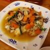 鱈のムニエル 野菜ジュレがけ
