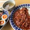 ★「簡単ハヤシライスランチ」レシピ付き&「本格海老チリ定食」
