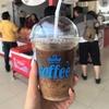 【Tram Dich Vu PK 77】パーキングエリアのカフェスタンドにて、ベトナムコーヒーをテイクアウト