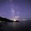 【天体撮影記 第165夜】 長崎県 佐世保 白浜海岸からの星空と秋の夜空を