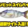 【ランカーハント】中空ボディのシャッド型スイムベイト「ガンビットスイムベイト」通販サイト入荷!