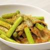 時短で簡単!ニンニクの芽と豚肉のカレーマヨネーズ炒めのレシピ